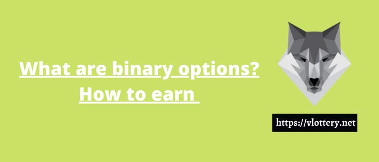 What are Binary Options? Types of options, terms, strategies for making money